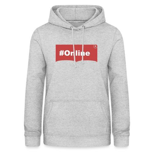 #Online - Frauen Hoodie