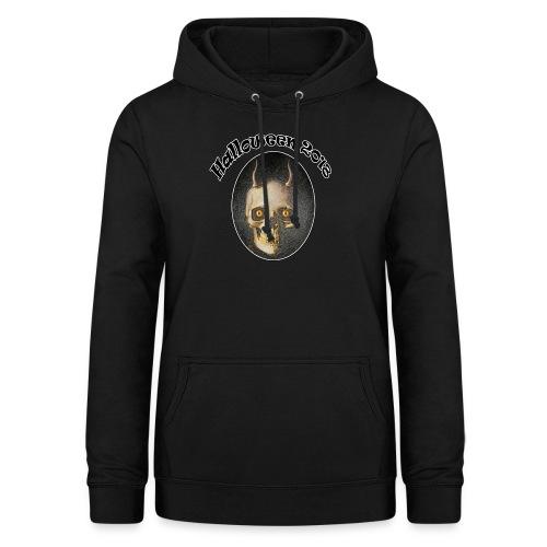 Halloween 2018 Horned Devil Skull - Women's Hoodie