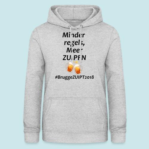 Brugge ZUIPT - Vrouwen hoodie