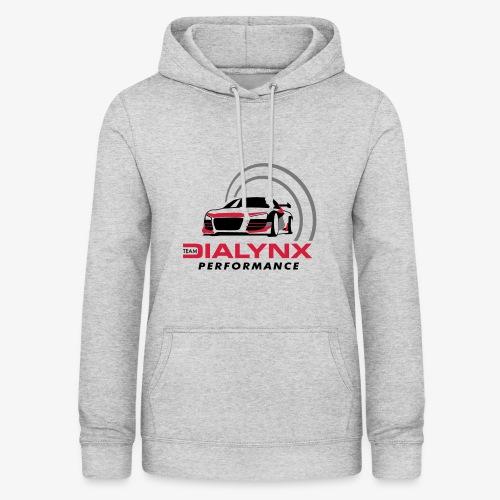 Dialynx Performance Race Team White Range - Women's Hoodie