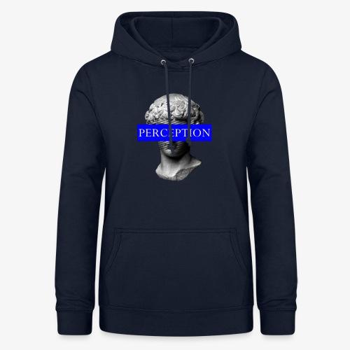 TETE GRECQ BLUE - PERCEPTION CLOTHING - Sweat à capuche Femme