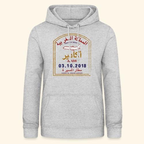 Agadir - Sweat à capuche Femme
