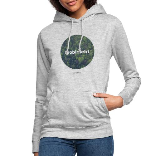 #robinlebt Wald 1 - Frauen Hoodie