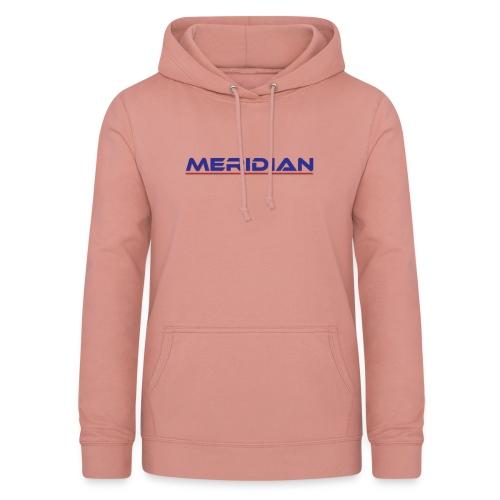 Meridian - Felpa con cappuccio da donna
