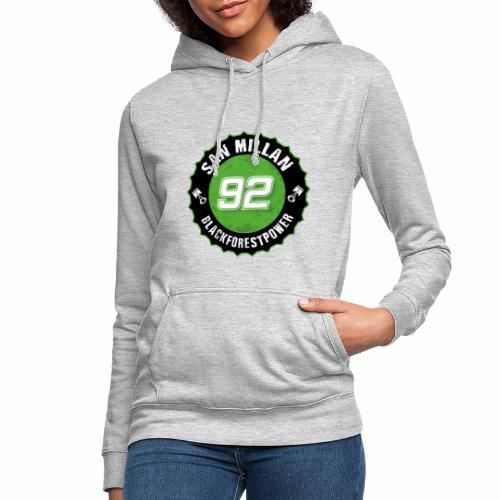San Millan Blackforestpower 92 rund - schwarz - Frauen Hoodie