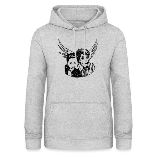 Destiel (Silhuet) - Dame hoodie
