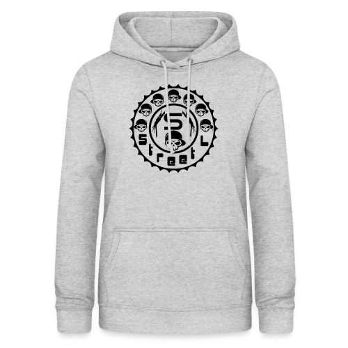rawstyles rap hip hop logo money design by mrv - Bluza damska z kapturem