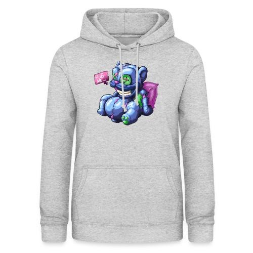 Hug me - Sudadera con capucha para mujer