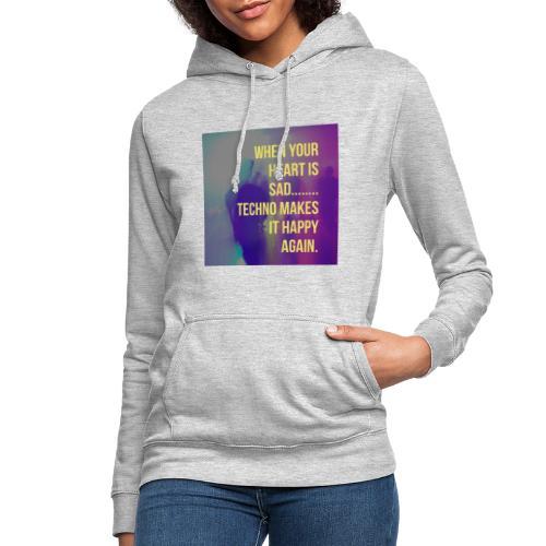 Techno - Frauen Hoodie
