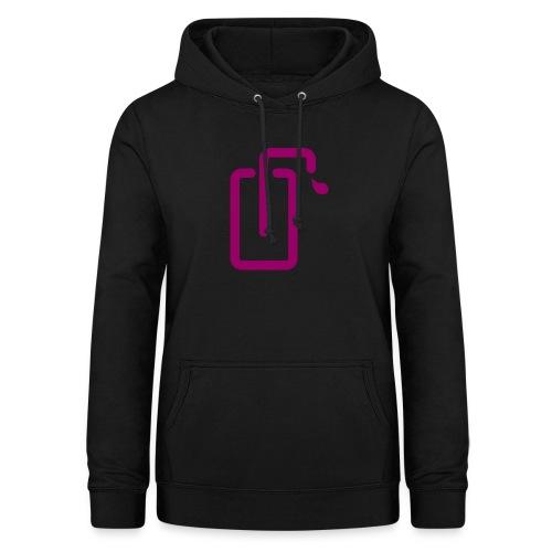 Liquidsoap logo - Sweat à capuche Femme