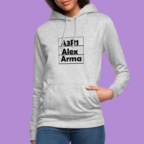 Alex - Sudadera con capucha para mujer