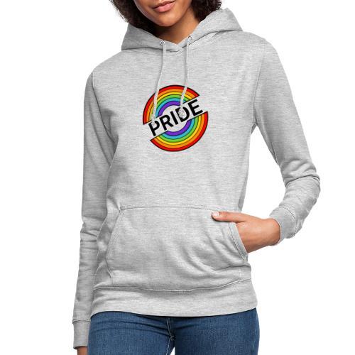 Pride regnbue - Dame hoodie