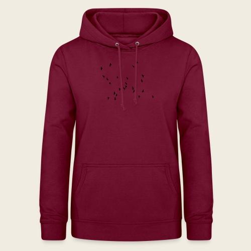 Flying birds - Dame hoodie