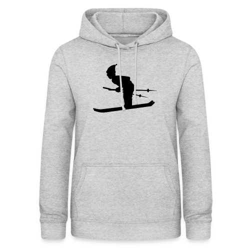 Skiing Live your Dream - Frauen Hoodie