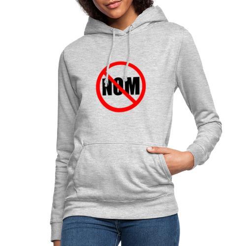 Anti Nuevo Orden Mundial - Sudadera con capucha para mujer