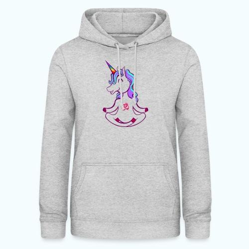 Unicorn meditation - Women's Hoodie