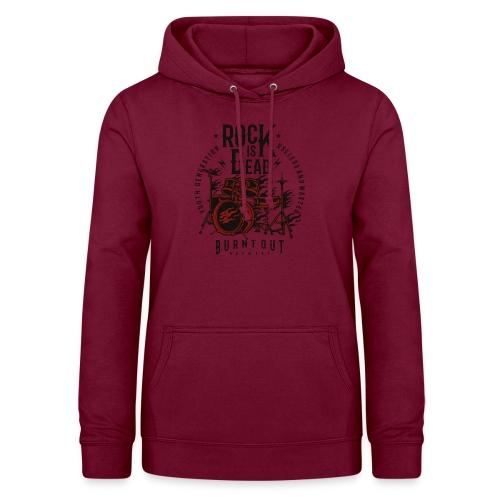 Rock Is Dead - Vrouwen hoodie