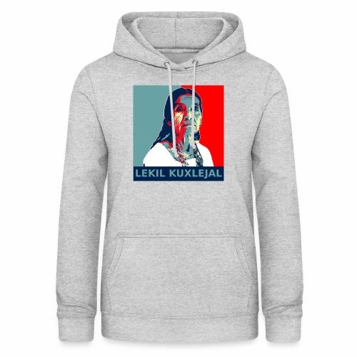 Lekil Kuxlejal - Sudadera con capucha para mujer