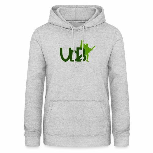 VdB green - Felpa con cappuccio da donna