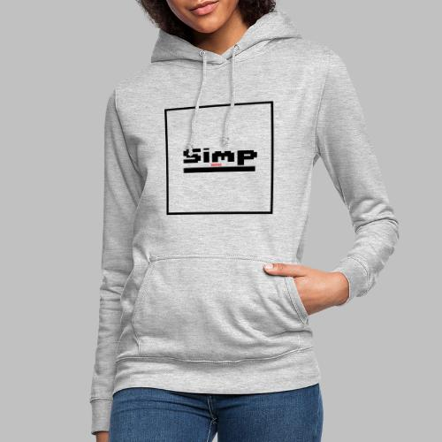 Standard Simp Logo Design - Vrouwen hoodie