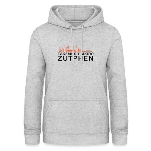 zutphen stadsgezicht oranje - Vrouwen hoodie