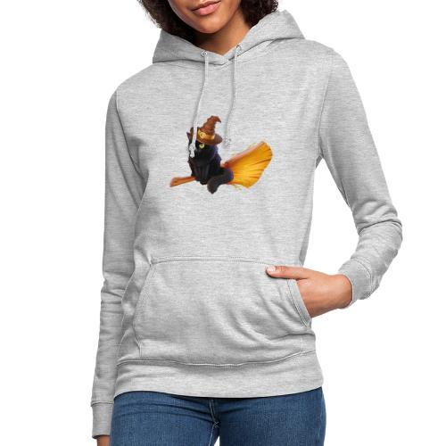Gato Brujo - Sudadera con capucha para mujer