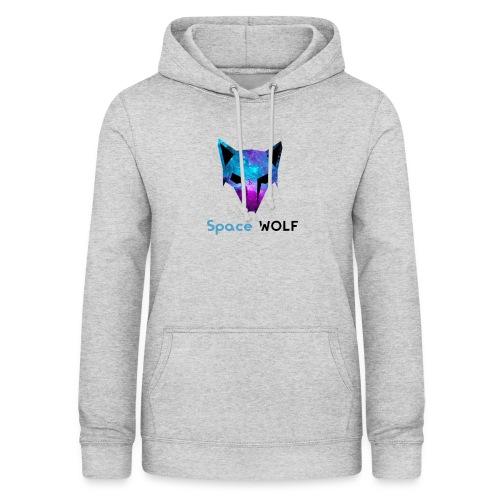 space wolf galaxy - Sudadera con capucha para mujer