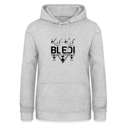 logo kifkifbledi - Sweat à capuche Femme