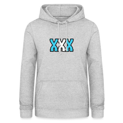 XXX (Blue + White) - Women's Hoodie