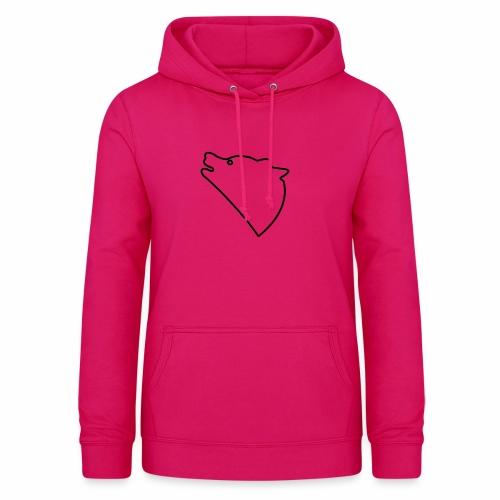 Wolf baul logo - Vrouwen hoodie