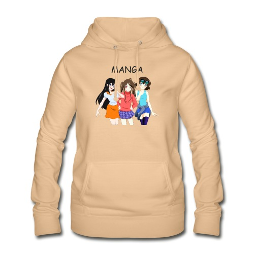 Anime Gruppe 3 Girls, Text Manga - Frauen Hoodie