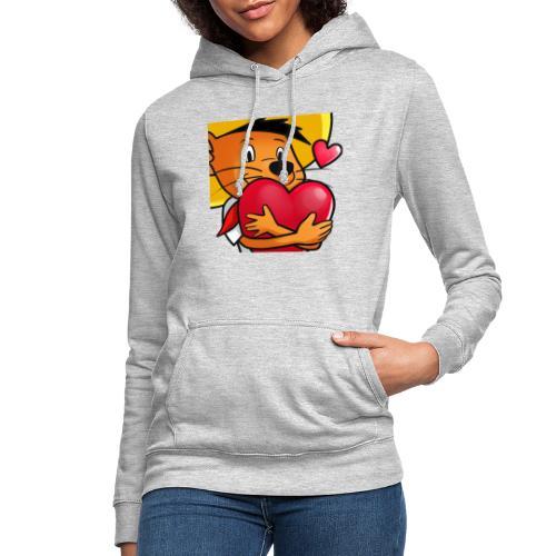 Love 3 copy - Dame hoodie