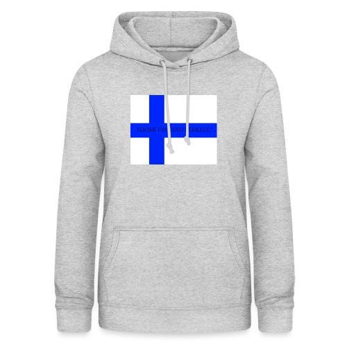 SUOMI FINLAND PERKELE - Naisten huppari