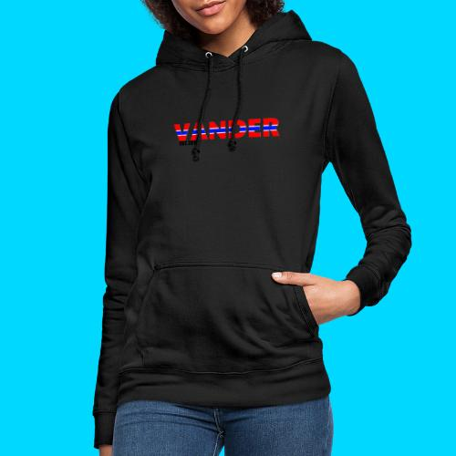 Vander in Red, white and blue. - Women's Hoodie