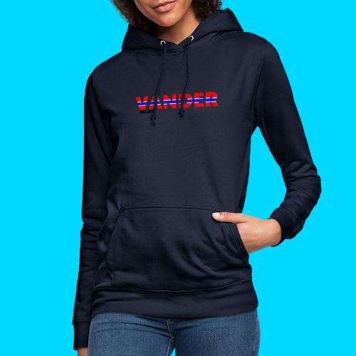 Vander in Red, white and blue. - Women's Hoodie