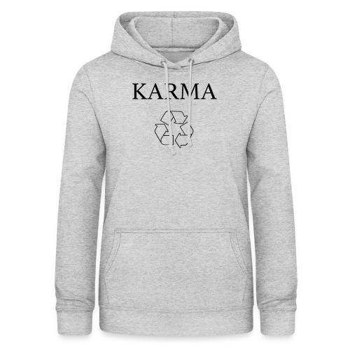 Karma Recycle - Bluza damska z kapturem