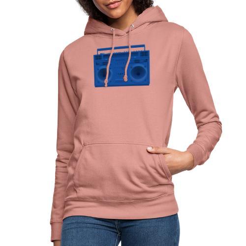 Bestes Stereo blau Design online - Frauen Hoodie