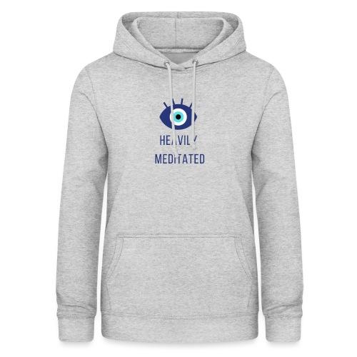 Heavily meditated yoga T-shirt - Vrouwen hoodie
