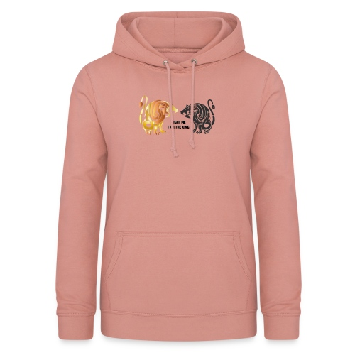 fight me #lion #king - Sweat à capuche Femme