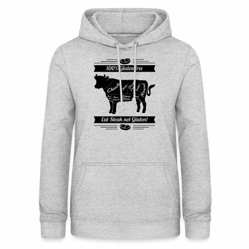 Humorvolles Design für Fleischliebhaber - Frauen Hoodie