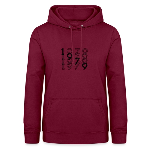 1979 syntymävuosi - Naisten huppari