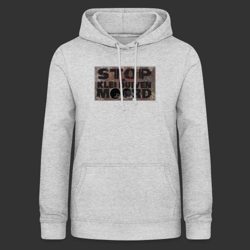 kleiduivenmoord - Vrouwen hoodie
