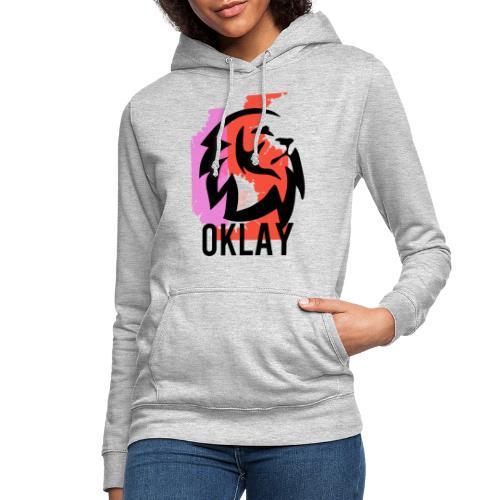CAMISETA OKLAY GO - Sudadera con capucha para mujer