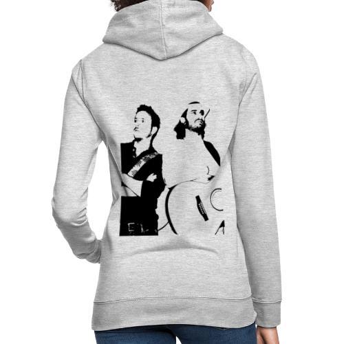 Das Schwarz-Weiße Bild - Frauen Hoodie