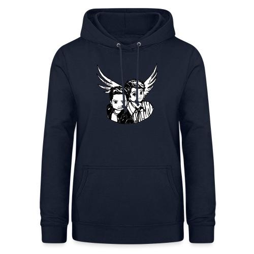 Destiel i sort/hvid - Dame hoodie