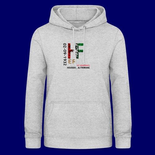 H&F ER - Felpa con cappuccio da donna