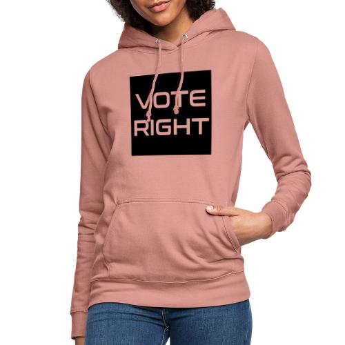 vote right - Frauen Hoodie