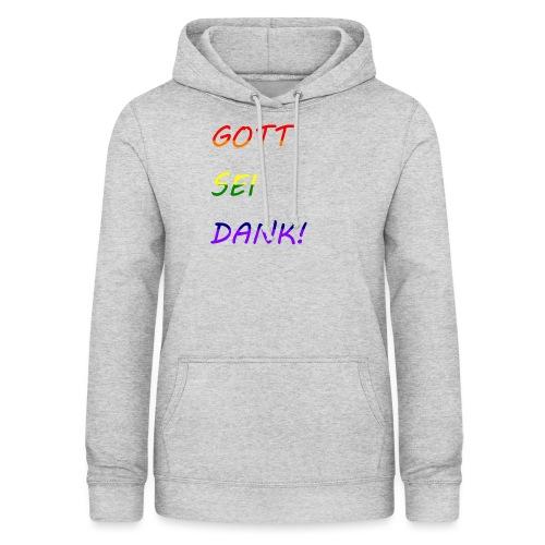 Gott sei dank Rainbow #1 - Frauen Hoodie