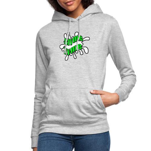 Slyme Tyme Logo / Green To White - Women's Hoodie