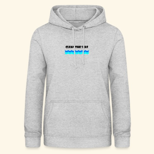 clean the seas - Frauen Hoodie